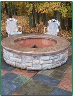 Fire pits in Chagrin Falls & Cleveland, OH
